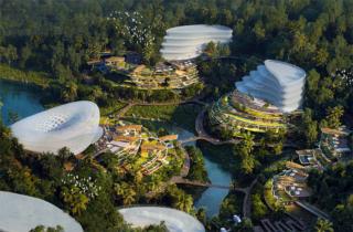 Plan for Próspera, a private city being built in Honduras. Source: Astral Codex Ten.
